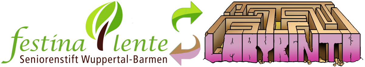 Logo festina lente Labyrinth