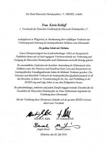 Karins Ehrennadel